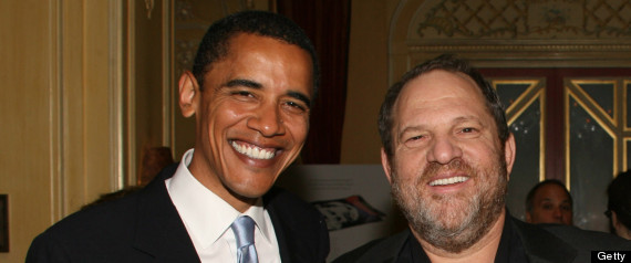 "Harvey Weinstein Hosts a Private Dinner and Screening of ""Bobby"" for Senators Obama and Schumer"